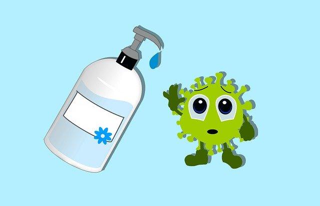 hand sanitizer photo